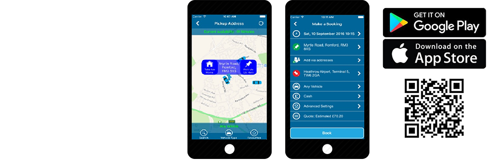 A1 Network Minicabs – Taxis Dagenham, Havering & Redbridge mobile