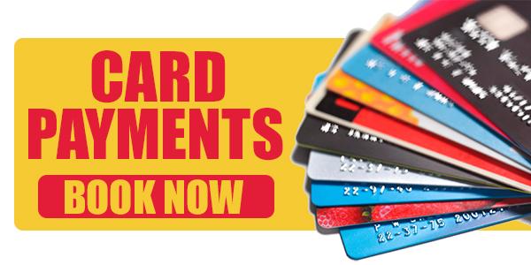 card bookings