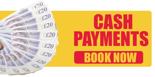 cash bookings